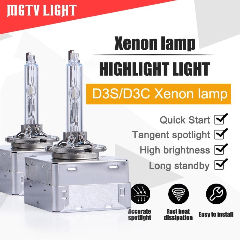 HID original car xenon lamp conversion kit D1S//D2S//D2R//D3S//D4S//D4R highlight fast start xenon lamp D2R, 4300K