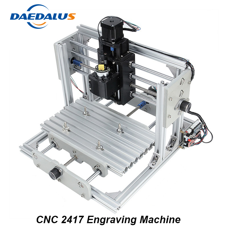 CNC 2417 Engraving Machine ER11 DIY Mini Milling Machine PCB PVC Wood Carving Machine Router Engraver Woodworking Tools