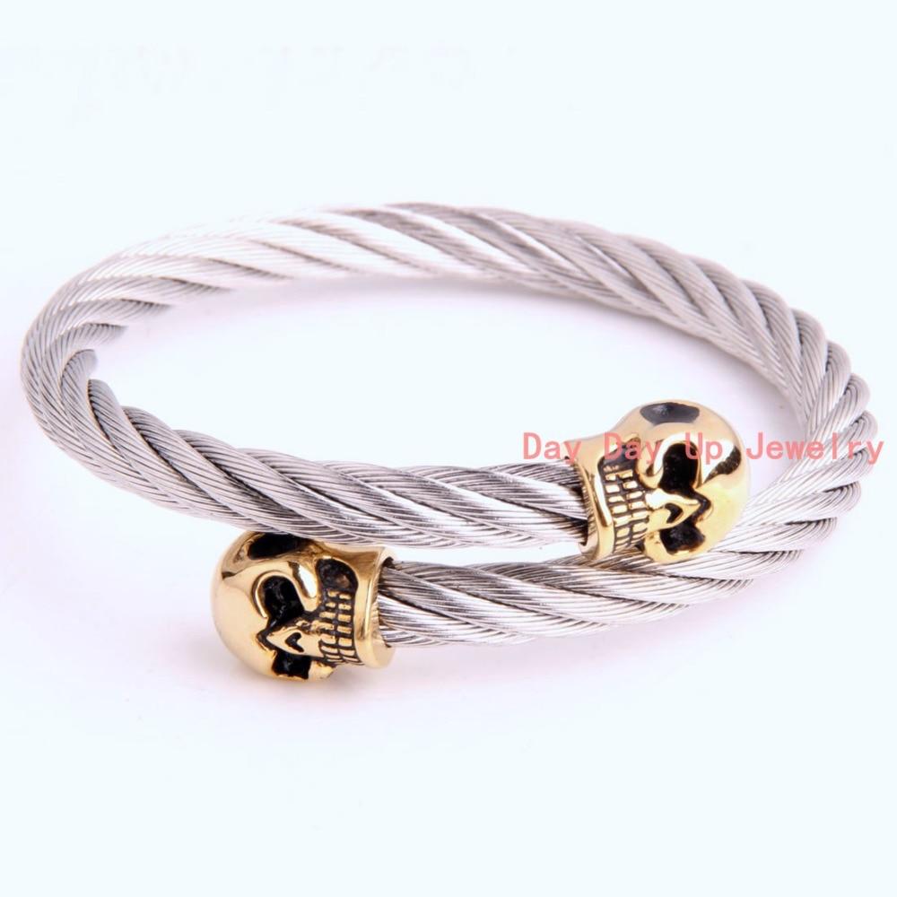 ღ ღHigh Quality New Jewelry 316L Stainless Steel Silver Twisty ...