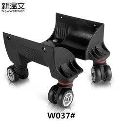 Trolley Gepäck Koffer Rollen Ersatzteile Ersatz Gepäck Räder/Rotierenden rad Zubehör räder für koffer W037 #