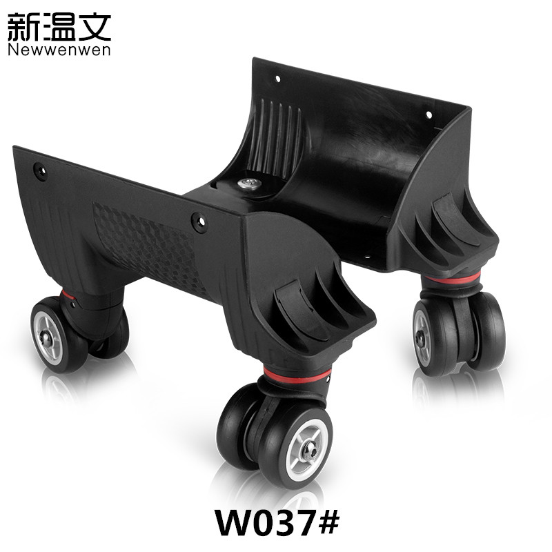 Trolley Luggage Suitcase Casters Repair Parts Replacement Luggage Wheels/Rotating wheel Accessories wheels for suitcases W037# replacement wheels for luggage repair trolley luggage side wheels suitcase wheels repair wheels for suitcases w047