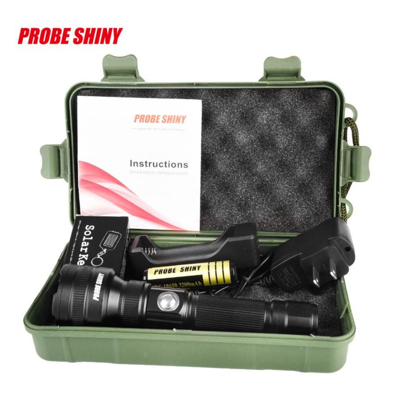 Flashlight on Bicycle Cycling front headlight 3000LM Tactical Q5 LED Flashlight Zoom Torch+18650 Battery+Charger #^
