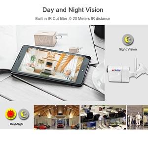 Image 4 - Kamera BESDER CamHi IP bezprzewodowa 1080P z gniazdo karty Micro SD ONVIF kamera do monitoringu domu Wi fi Chrome IE interfejs strony internetowej