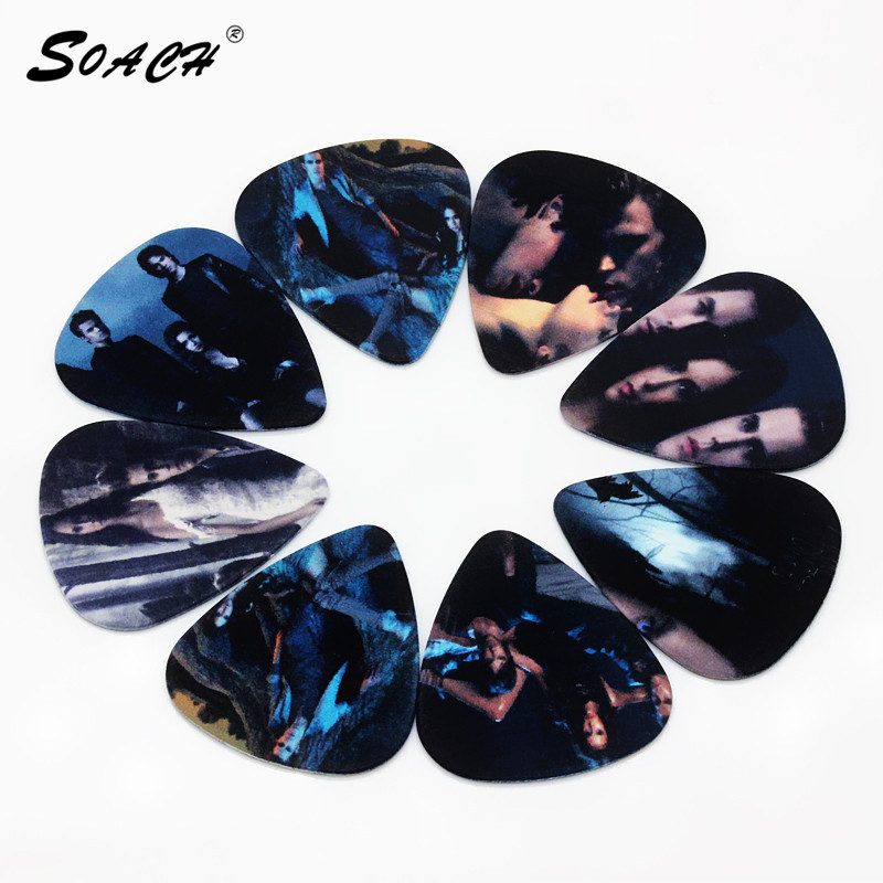 SOACH 10pcs/Lot 1.0mm thickness pick New guitarra lead guitar picksString instrument accessories paddle