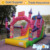 Inflatable biggors corrediça bouncy castelo inflável trampolim de slides forma china