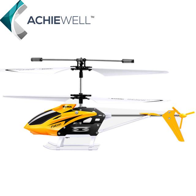 Nova 2.4G Syma W25 Inquebrável Helicóptero de Controle Remoto 4 Canal Helicóptero DO RC Para Crianças Dom Adulto Brinquedos Interiores