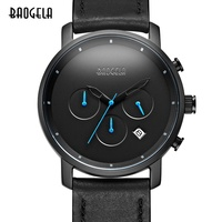 Genuine 2018 Fashion Quartz Male Watches Genuine Leather Watches Racing Men Students Game Run Chronograph Watch