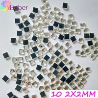 Wholesale Adhesive Rhinestones For Nails Glass Gems Stickers Crystal Pixie Flatback Jewelry 3D Nail Art Tools