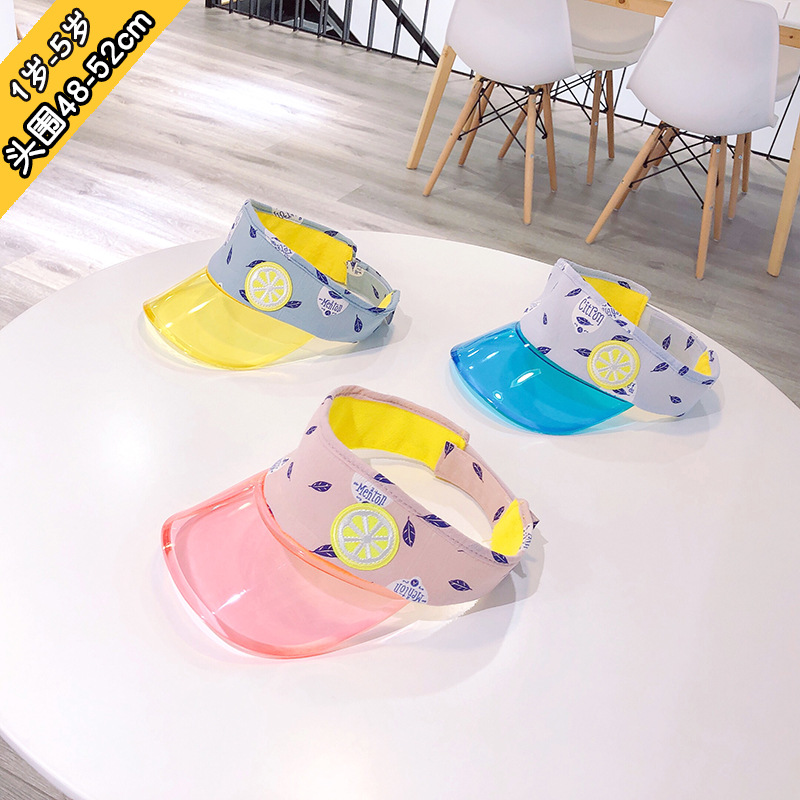 2 to 4 years old new summer 2019 children baby hat han edition of empty hat outdoor private sunscreen cap baby bonnet XA 245 in Hats Caps from Mother Kids