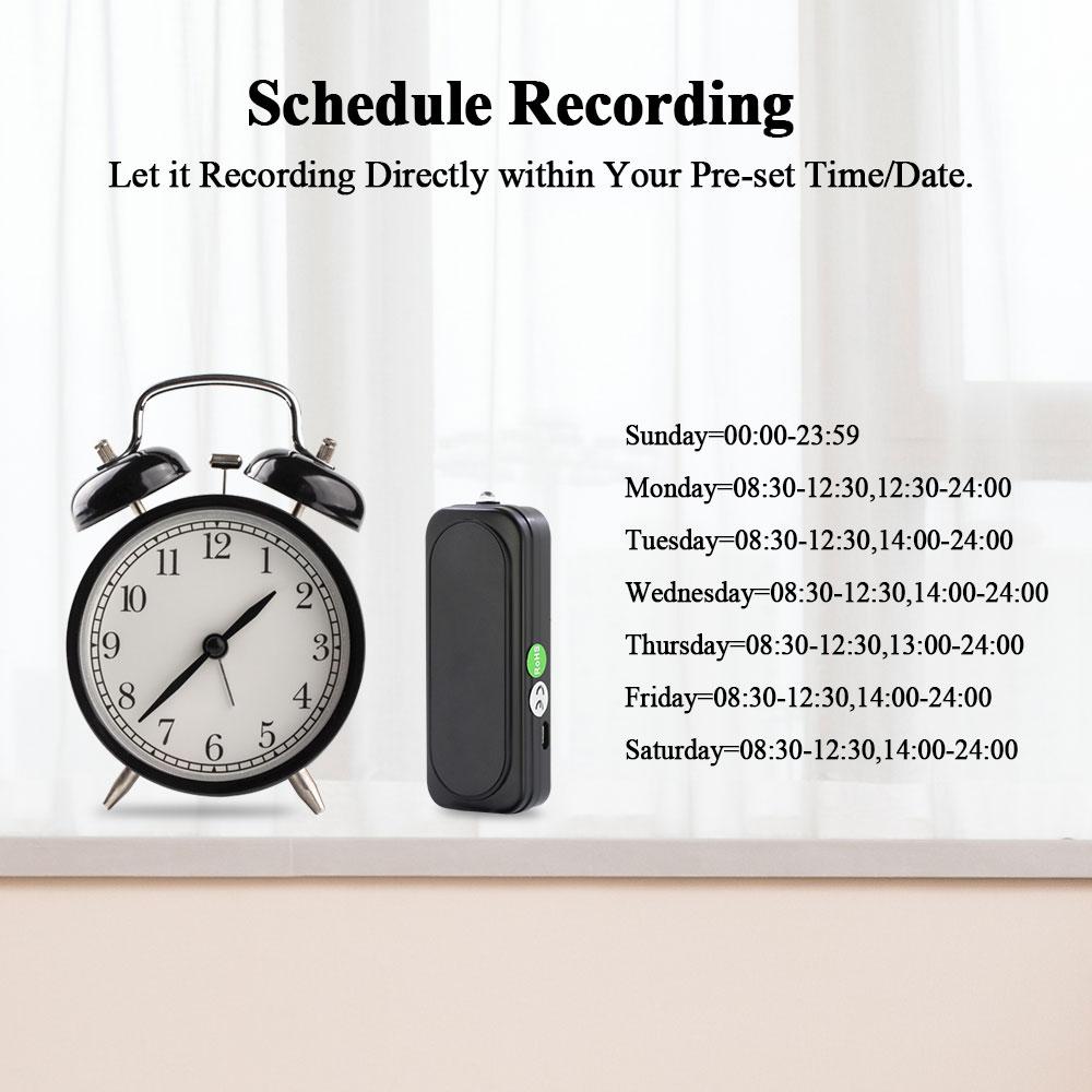 Mini Voice Recorder Q6 8