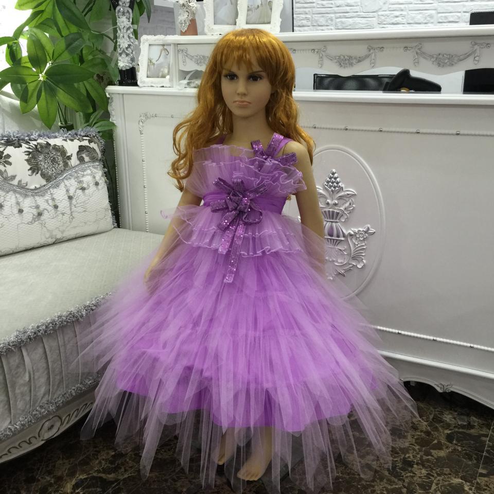 Hermosa Los Niños Vestidos De Fiesta Para Niñas Colección - Vestido ...