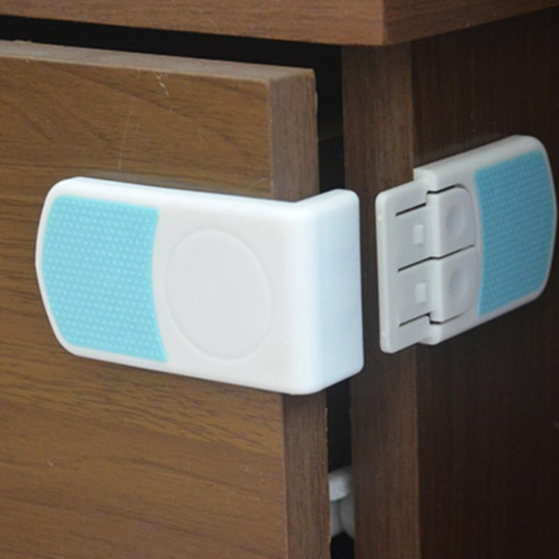2018 Corner Protectors For Furniture Dual Button Children Right-angle Baby Safety Lock