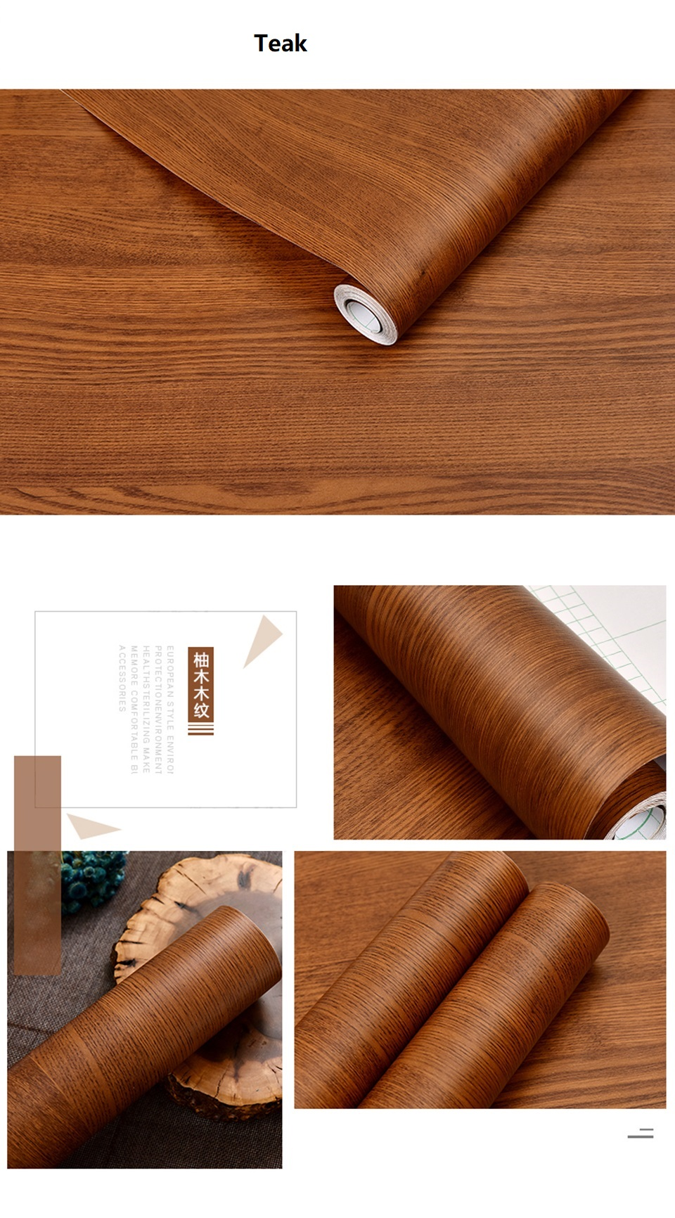 PVC Vinyl Wood Grain Contact Paper for Kitchen Cabinets Table Sticker Waterproof Self adhesive Wallpaper Phone Case Stickers HTB1ikF4hWSWBuNjSsrbq6y0mVXaX