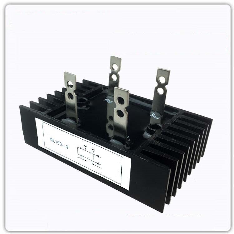 Rectifier Bridge QL100A QL100-12 Single Phase Rectifier QL100A1200V