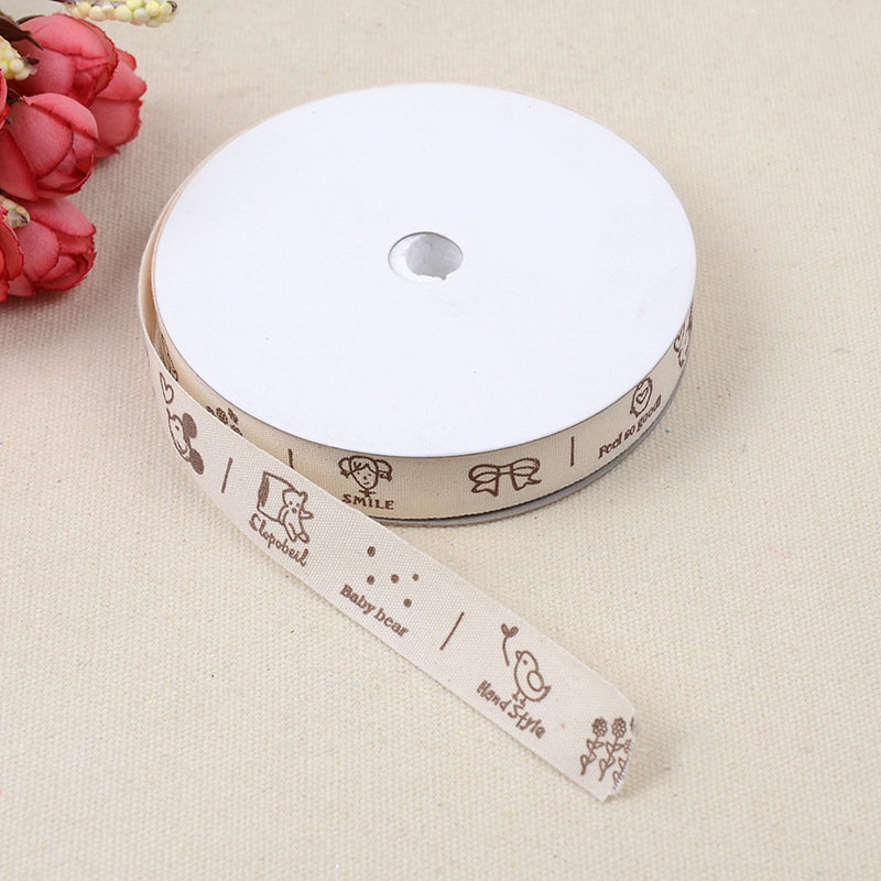 Polyester Ribbon Wedding Decoration Garment Accessories Cotton Cake Gift Packaging Box