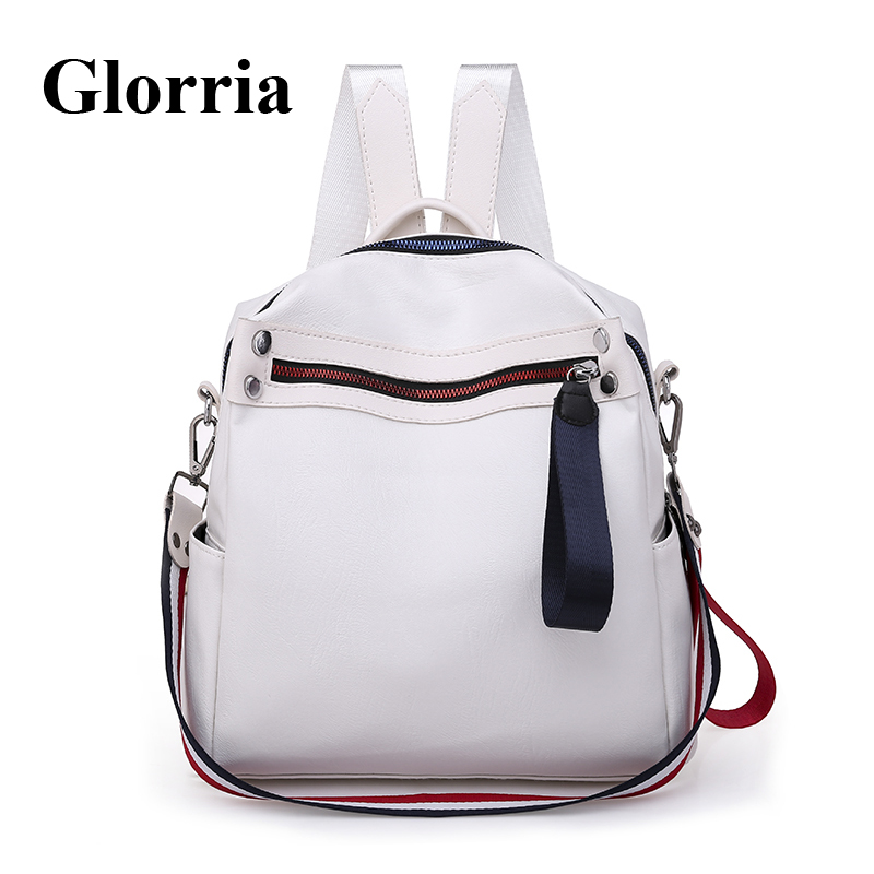 Glorria 2019 sacs à dos chauds pour femmes Sac à dos en cuir femme petit Sac à dos adolescent filles livre Sac de voyage Sac Mochila