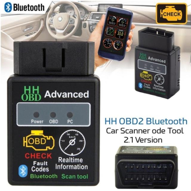 Cheap Mini elm327 OBD2 Car Code Reader Diagnosis Scanner V1.5V2.1 OBD HH OBD Works Android Torque Bluetooth DJM9495