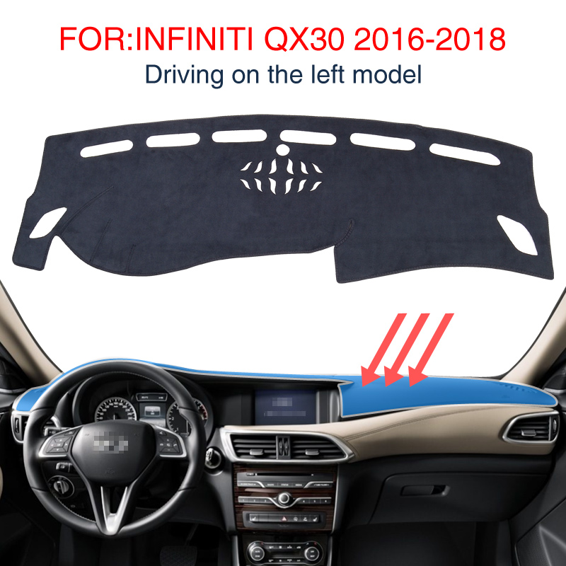 2018 Infiniti Qx30 Interior: Smabee For INFINITI QX30 2016 2018 Insulation Mat Dash Mat