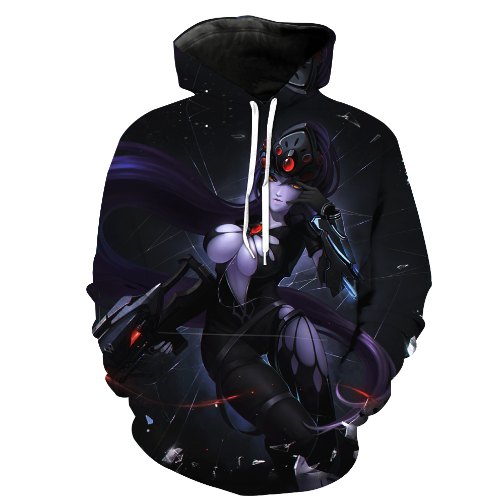 Fashion Men/women Hoodies With Cap Print Overwatch 3d Hooded Sweatshirts Hoody Tracksuit hooded Tracksuits Hoome Tops Unisex 2