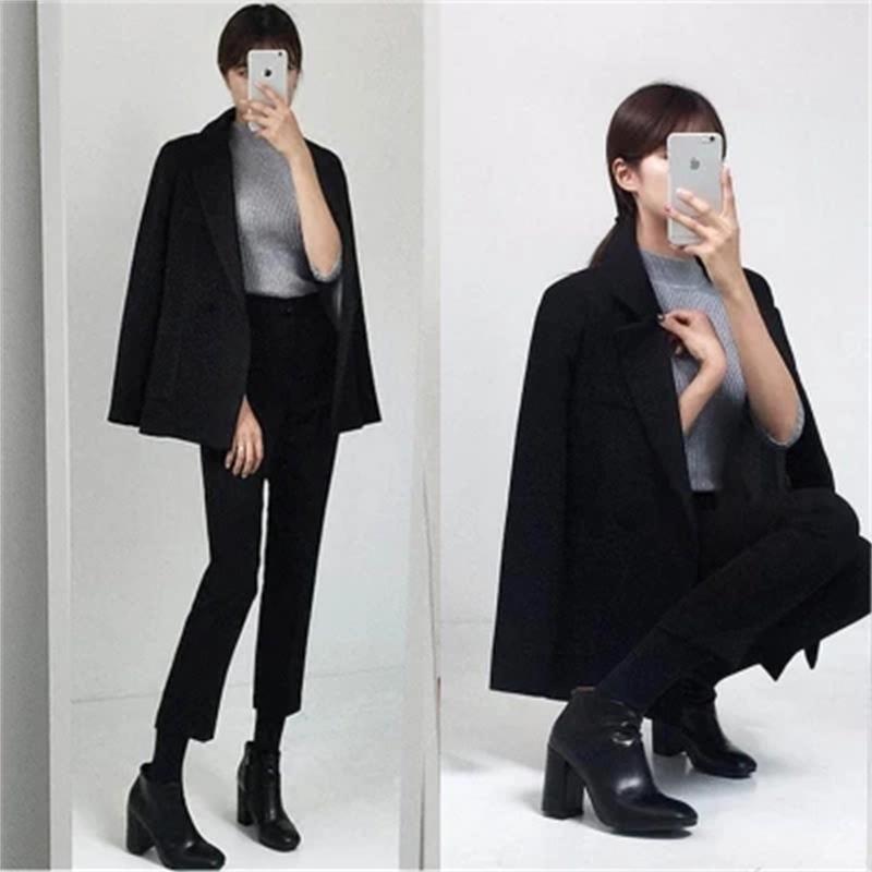 Taille Grande Costume Tempérament Petit Printemps Neuf Féminin Nouvelle Mode 1 Ensembles Deux Casual Pantalon Femmes Lâche De TqC4p