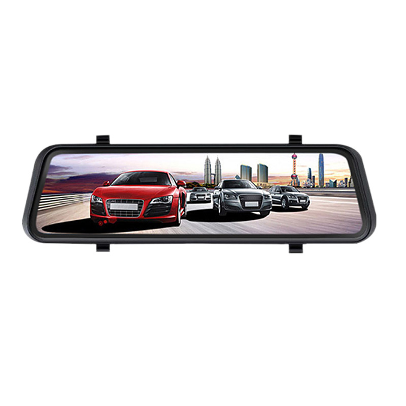 New 9.35-Inch Car Dvr Streaming Media Dual Lens Intelligent Rearview Mirror Driving Recorder Hd Reversing ImageNew 9.35-Inch Car Dvr Streaming Media Dual Lens Intelligent Rearview Mirror Driving Recorder Hd Reversing Image
