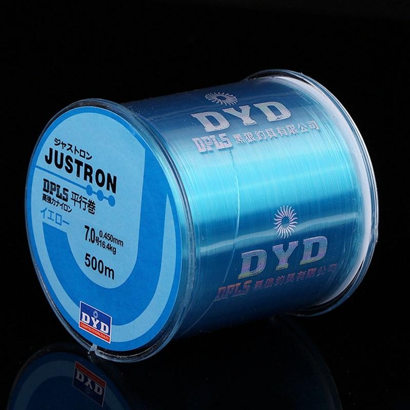 500m supersterke nylon vislijn 2LB - 40LB 7 kleuren Japan - Visvangst - Foto 3