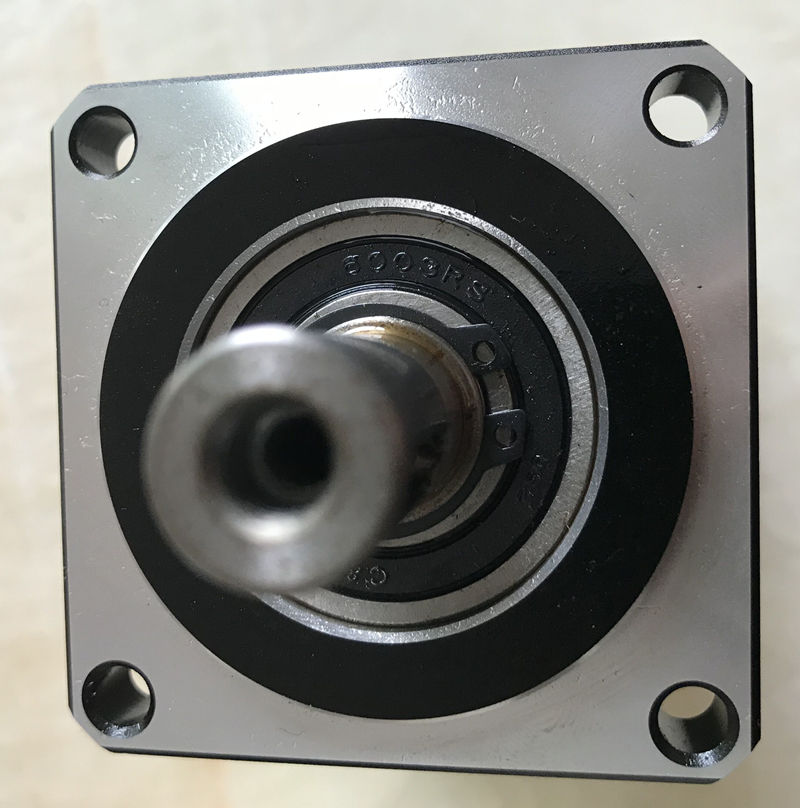 planetary gear reducer 12 arcmin 2 Stage ratio 15:1 to 100:1 for 80mm 750w AC servo motor input shaft 19mm