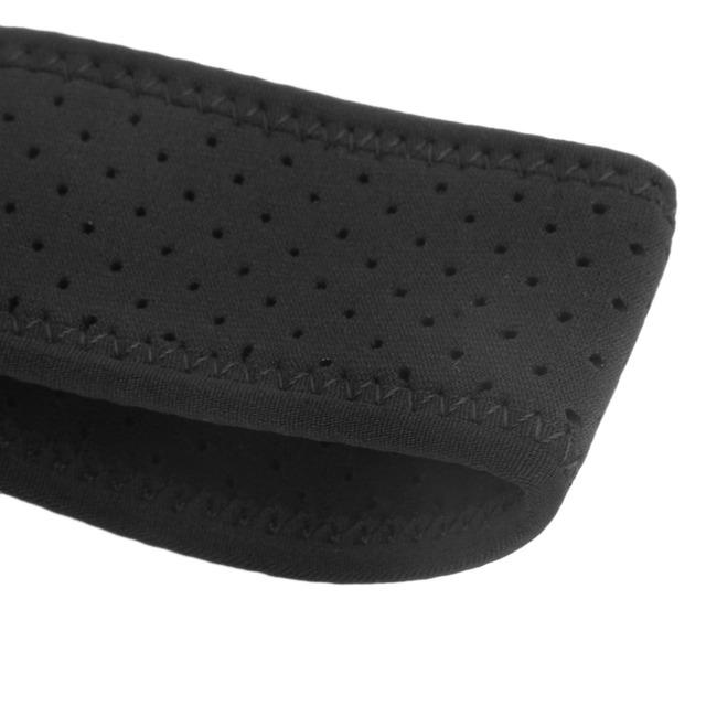 ShuoXin Breathable Sports Men Women Magnetic Single Shoulder Brace Support Strap Wrap Belt Band Pad SX642 Black freedhipping