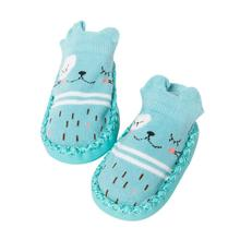 Mooistar2 #L030  Cartoon Newborn Baby Girls Boys Anti-Slip Socks Slipper Bell Shoes Boots