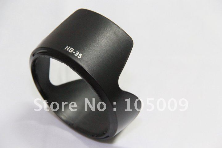 HB-35 HB35 Bayonet Mount camera Lens Hood for <font><b>Nikon</b></font> AF <font><b>18</b></font>-<font><b>200mm</b></font> f/3.5-5.6 image