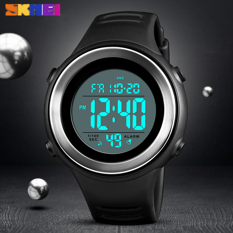 <font><b>SKMEI</b></font> Men's Military Sports Watches Luxury Fashion Men Watch Countdown Waterproof LED Digital Watch Man Relogio Masculino <font><b>1394</b></font> image