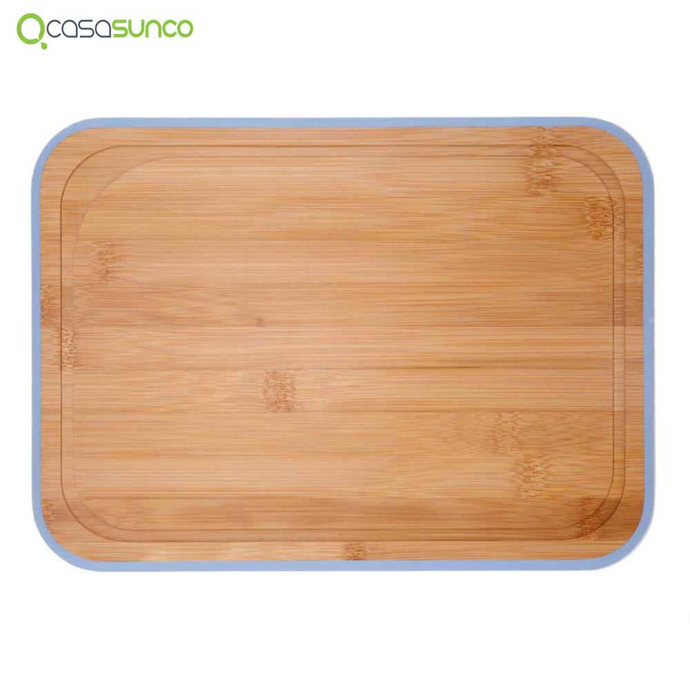 Bamboo Cutting Board Light & Organic Kitchen Board Chopping Board With Drip Groove  4 Sizes 2 Colors By CASASUNCOBamboo Cutting Board Light & Organic Kitchen Board Chopping Board With Drip Groove  4 Sizes 2 Colors By CASASUNCO