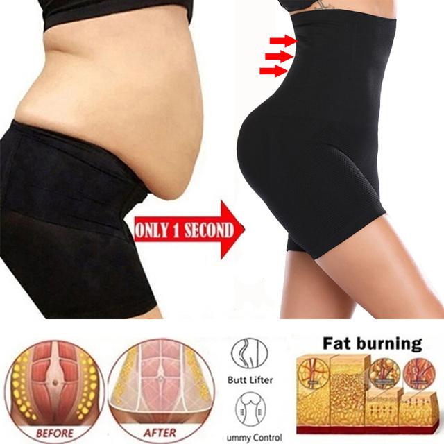 Shapewear flat stomach Tummy Control Women High Waist