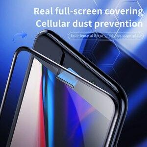 Image 3 - Baseus 0.3Mm Dunne Beschermende Glas Voor Iphone 7 8 6 6S Screen Protector 9H Volledige Dekking Gehard glas Voor Iphone X Xs Max
