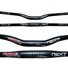 Race Face NEXT 3K Glossy Carbon Handlebar Flat/Rise Bicycle Mountain Bike 31.8*600/620/640/660/680/700/720/740/760mm