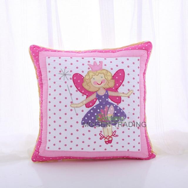 c110c4d4d Direto da fábrica das crianças Criativas meninas almofada bordado 100%  Algodão acolchoado hold travesseiro carro
