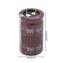 Электрическая сварочная машина 450V 560 мкФ Алюминий объем электролитного конденсатора 35x50 Жесткий стопы