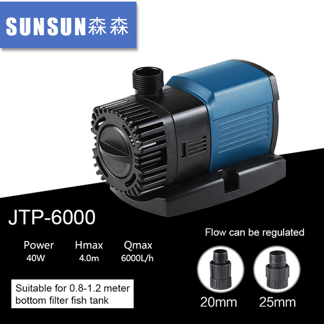 Eco Pump Electric Submersible Price For Swimming Pool Garden Pond 40w 6000l H
