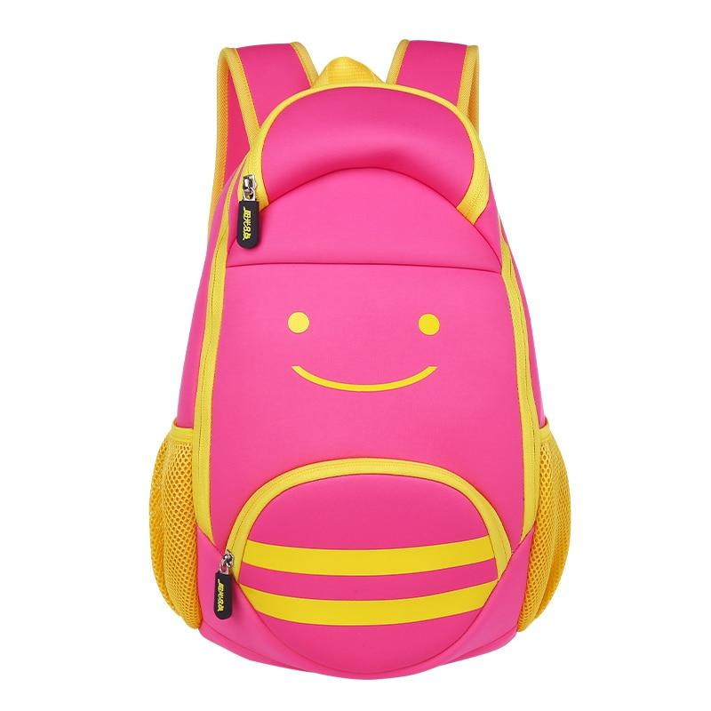 Genuine / multicolor/ergonomic elementary school bag books child/children backpack/ girls Boy for class/grade 1-3 schoolbag unme children schoolbag for grade 1 3 girls backpack waterproof leather light for boy