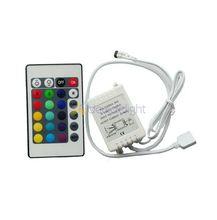 5pcs RGB LED Controller 24 Keys IR Remote DC12V for SMD 3528 5050 RGB LED SMD Strip Light