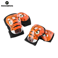 ROCKBROS Children Elbow Pads Knee Pads EPS Breathable Kids Knee Pads Boys Girl Sport Safety Cycling Skiing Child Arm Leg Protect