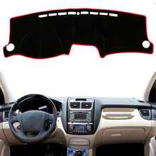 цена на Car Dashboard Mat Cover Pad Sun Shade Instrument Protect Cover Carpet Accessories For Kia Sportage 2005 2006 2007 2008 2009 2010