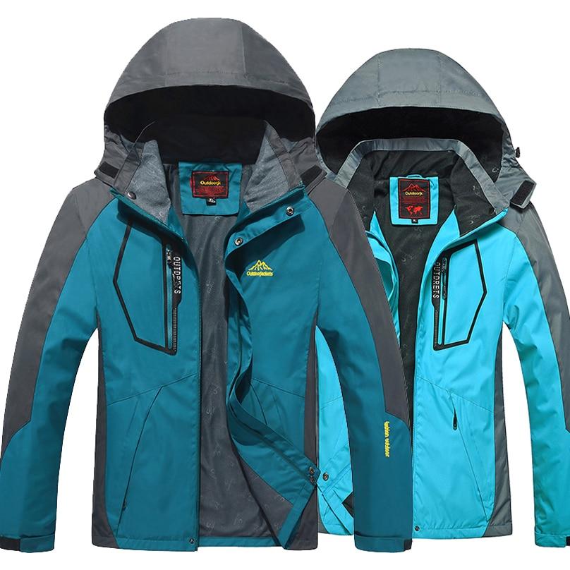 New 2017 men Women Outdoor jackets windbreaker waterproof ...