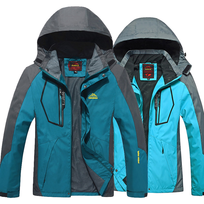 Prix pour Nouveau 2017 hommes Femmes En Plein Air vestes coupe-vent imperméable Coupe-Vent Camping Randonnée veste manteau pour hommes de pêche de sport vestes