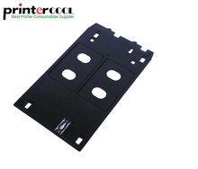 J type PVC ID tray Inkjet card for Canon ip7120 ip7130 ip7180 ip7230 ip7240 ip7250 ip7280 ip7200 ip5400 MG5420 MG5430