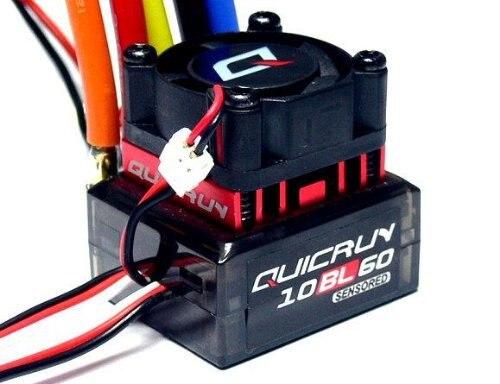HOBBYWING QUICRUN WP10BL60 WP 60A R/C Hobby Sensored Brushless Motor ESC for 1/10 1/12 Buggy Mons