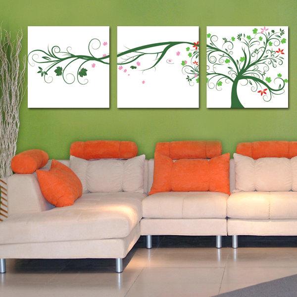 Lebensbaum Kunst-kaufen Billiglebensbaum Kunst Partien Aus China ... Wandbilder Wohnzimmer Grun