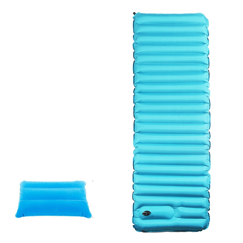 New Inflatable Air Sleeping Mattress Ultralight Thick Wide Portable Outdoor Travel Camping Tent Mat PadNew Inflatable Air Sleeping Mattress Ultralight Thick Wide Portable Outdoor Travel Camping Tent Mat Pad