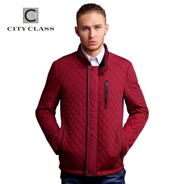 CITY CLASS новый мужчины бизнес отдых приталенный стойка воротник мода синтепон стёганные одежды бесплатная доставка CC14022