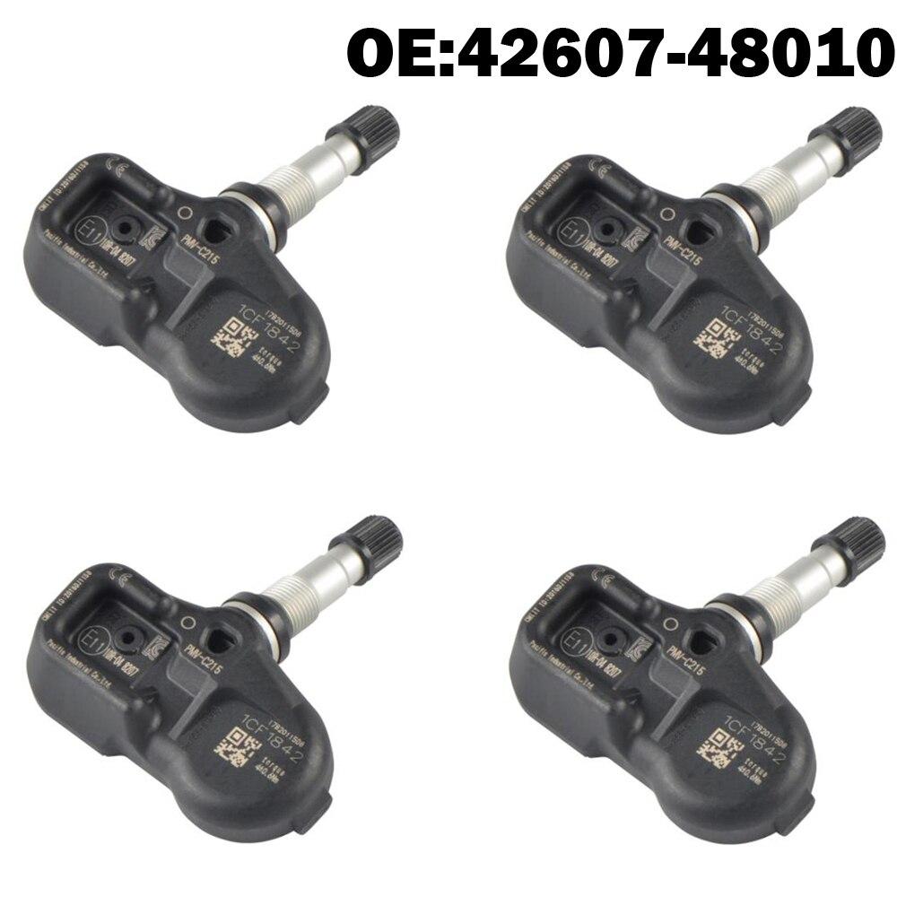4 pièces capteur de moniteur de pression de pneu de voiture TPMS 42607-48010 42607-30070 pour Toyota Lexus IS250 ES300h NX GS LS RC RX 4260748010